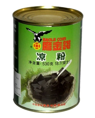 Gelatina di erbe (grass jelly) in acqua - Eagle coin 530 g.